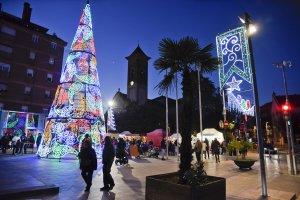Arbre de Nadal a Cerdanyola