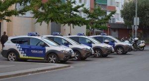 Cotxes de la Policia Local a Cerdanyola