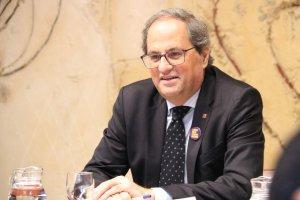 El president de la Generalitat Quim Torra