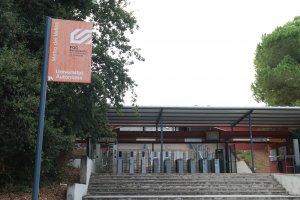 Estació de FGC a la Universitat Autònoma de Barcelona