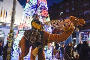 Un dels espectacles durant la Fira de Nadal