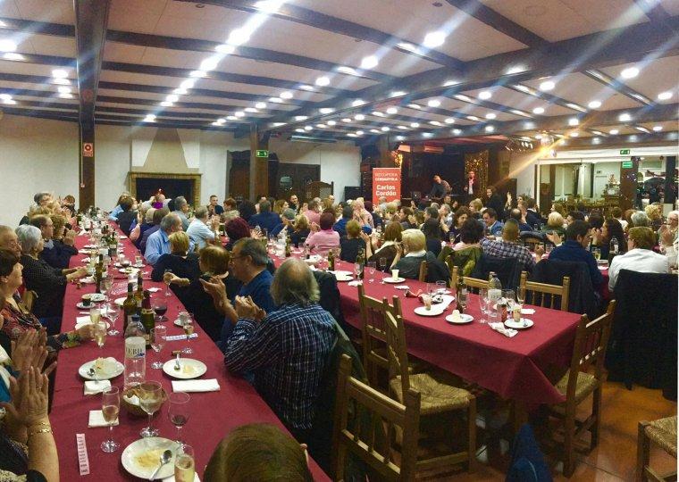 150 persones van assistir al sopar de Nadal del PSC