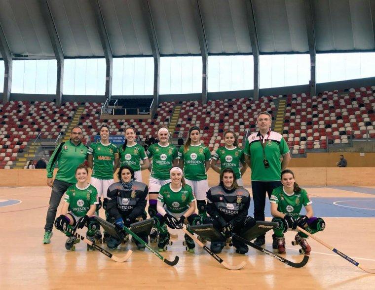 L'equip d'Ok Lliga del Cerdanyola CH