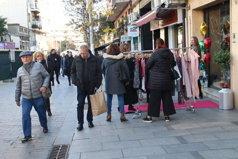 Les imatges del comerç al carrer per nadal 2018