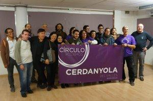 Els membres del Cercle de Podem l'any 2015