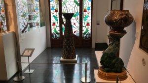 La columna de Clapés va ser cedida a Cerdanyola pel mateix artista