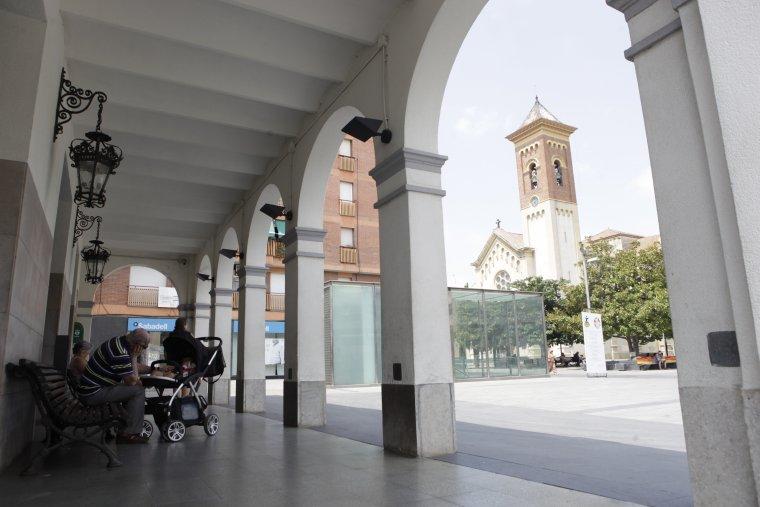 Plaça Francesc Layret de Cerdanyola