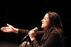 Alba Carmona en concert