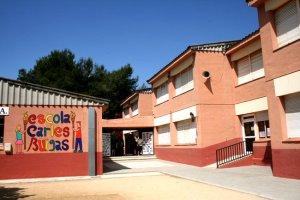 Façana de l'escola Carles Buïgas
