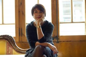 Gemma Lienas escriptora del Fil Invisible