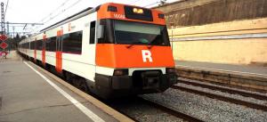 L'accident pot afectar a la línia R4 que té parada a Cerdanyola