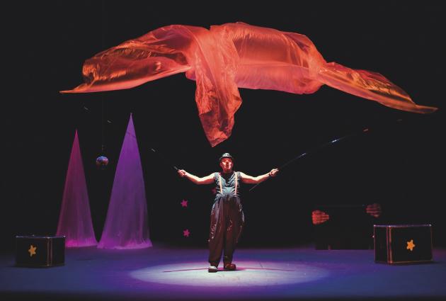 'La gran A... ventura' de Marcel Gros és el primer espectacle de la Pallassada