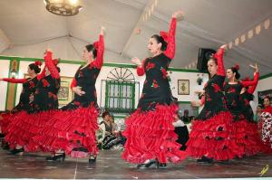 Caseta de la Casa de Andalucía de Cerdanyola a la Feria de Abril