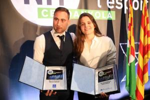 Marc Coy i Gemma Solé són els Millors esportistes de Cerdanyola