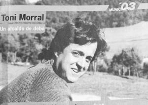 L'exalcalde Toni Morral a les eleccions de 2003