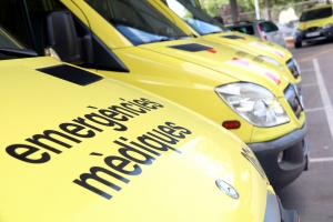 L'home ja havia mort quan van arribar els Serveis d'Emergències Mèdiques