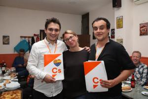 Els tres regidors de Ciutadans