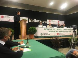 Imatge del debat de candidats a l'EMD de Bellaterra