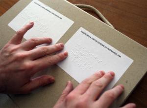 Sistema braille per a votar a les eleccions