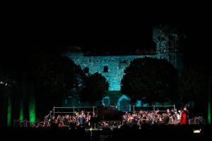 Moment del Concert al Castell 2019