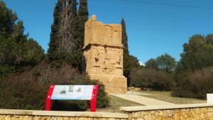 Torre de los Escipiones, un monumento funerario.