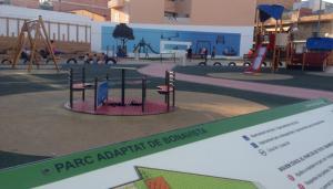 El parc infantil adaptat de Bonavista.