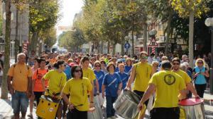 Caminata popular de la Festa del 30 d'octubre de Salou