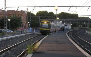 Imatge de l'estació de tren de Vila-seca