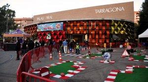 El parc infantil de nadal, a Tarragona.