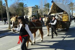 Els tres tombs formen part de la festa Major d'Hivern de Vila-seca