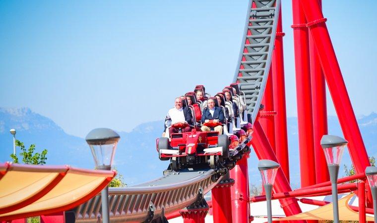 El Red Force és l'atracció estrella de Ferrari Land.