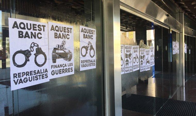 Exigeixen al bbva la retirada de l 39 acusaci a vaguistes de for Bbva oficina central