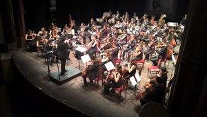 Imatge de la Jove Orquestra Filharmònica de Catalunya.