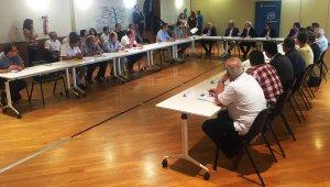 La reunió d'alcaldes s'ha produït aquest dimecres a la Diputació de Tarragona.