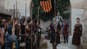 Imatge de la passada edició de la Festa del rei Jaume I