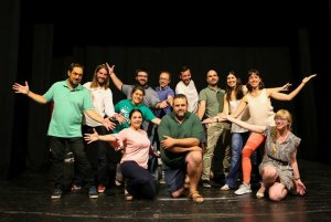 Imatge dels actors que interpreten l'obra.