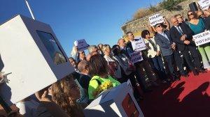 Les urnes han copat el protagonisme de la Diada a Tarragona.