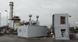 El barracó s'ha girat completament, al darrere del pàrquing de la BASF, al terme de la Canonja.