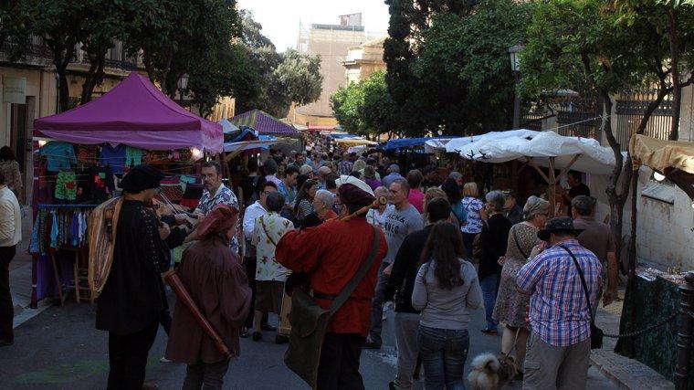 El mercat medieval omplirà la Part Alta aquest cap de setmana.