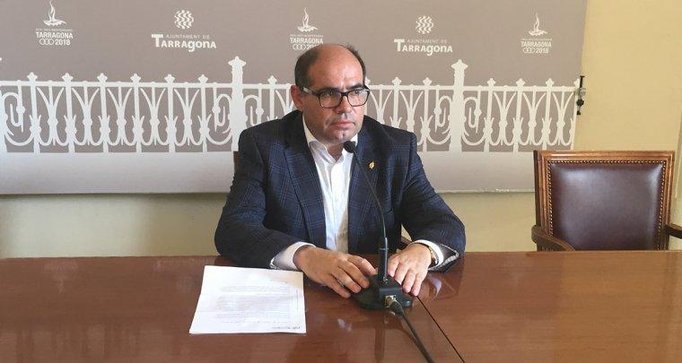 Josep Maria Prats, en roda de premsa aquest dijous.