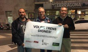 Carlos Montejano, José Tabuyo i Daniel Pi, aquest dimecres en roda de premsa.
