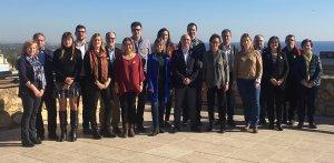 Foto conjunta de la candidatura d'ERC per Tarragona el 21-D.