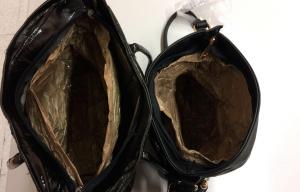 Imatge de les dues bosses que van interceptar al lladres de Vila-seca.