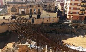 Les obres per instal·lar la càvea al Teatre romà ja estan finalitzades.