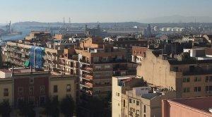 Tarragona, amb el Port de fons.