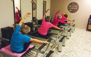 A Pilates Corner rebreu una atenció personalitzada, ja que els grups són de màxim 4 persones.