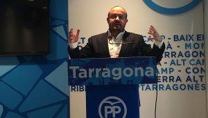 Alejandro Fernández (PP), cap de llista per Tarragona el 21 de desembre.