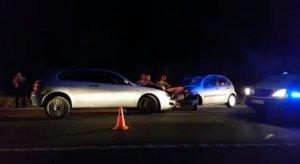 Imatge dels cotxes implicats en l'accident