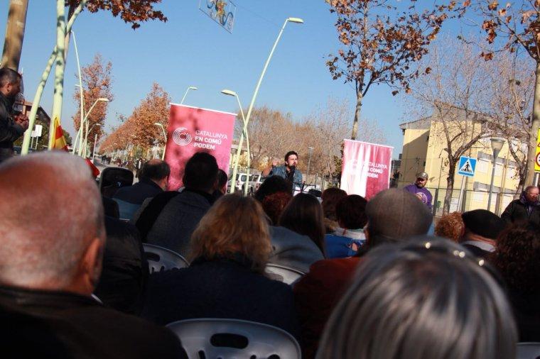 Imatge de la campanya de Catalunya en Comú Podem.