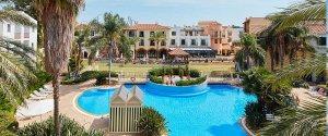 Imatge de les instal·lacions hoteleres de Port Aventura.